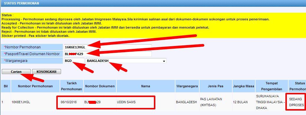 Malaysia Professional Visa Check