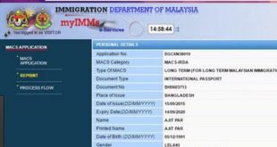 Malaysia Visa Check Online by Passport Number & Immigration Review 2017